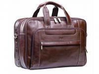 Nevada - Executive Leather Laptop Bag. (Adpel)