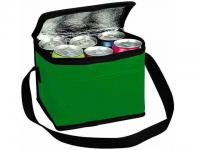 PET Coating 6 Can Cooler Bag with Inner Aluminium Foil