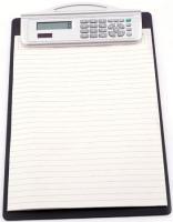A4 Clip Board with Calculator