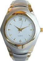 Mag Gold / Two-tone Analog Wrist Watch