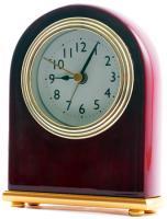 Rosewood Analog Desk Clock