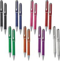 Chic metal pen and pencil gift set