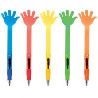 Hand shaped- plastic- ballpoint pen