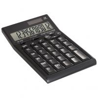 12-digit dual-powered calculator with computer keypad