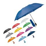 Polyester telescopic fold up umbrella