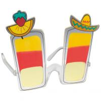 Mexican cocktail themed party sunglasses
