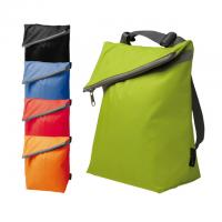 Trendy Polyester 6 can cooler bag * PLEASE NOTE: only one colour screen print option for branding. *