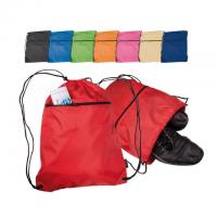 Drawstring bag / backpack with zip pouch