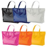 Large PVC bag ideal for the beach / shopping