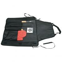 Barbecue set  with nylon apron- braai glove- fork- tongs and spatula