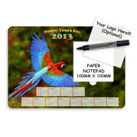 A4 Calendar Deskmat With Notepad
