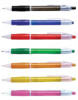 Neo Plastic Ball Point Pen with Rubber Grip
