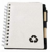 Recycle Eco Friendly Pen and Notebook