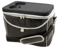 Executive Polyethylene Cooler Bag with EVA Hard Lid and Inner Aluminium Foil