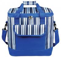600D Polyester Striped Cooler Bag 30ltr