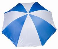 170T Polyester 8 Panel Beach Umbrella with Metal Shaft