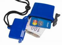 Plastic Waterproof Beach Box Cash and Credit Card Holder