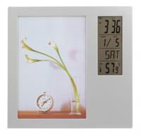 Photo Frame Alarm Desk Clock