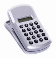 Clip On Calculator with Memo Holder