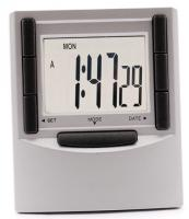 Column LCD Digital Alarm Desk Clock