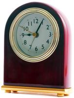 Rosewood Analog Desk Clock