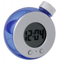 Eco Water Operated LCD Digital Desk Clock.