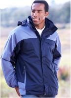 JT's 3 in 1 All Weather Mid Length Jacket XXXL
