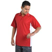 Side Panelled Sports Polo Shirt