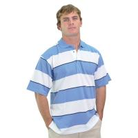 Broad Stripe Polo Shirt
