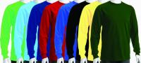LONGSLEEVE T-SHIRT (COLOUR)