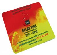 Square coaster with full colour print