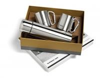 Bushking Flask & Mug Set