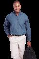 Mens Denim Shirt Long Sleeve (LO-DEN) XL-2XL