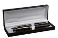 BP6110 - Striped Ballpoint and Rollerball Pen Set