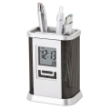 BD0037 - Desktop Pen Stand with Alarm Clock
