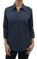 Ladies 3/4 Sleeve Woven Shirt