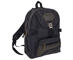 Rustic Denim Backpack