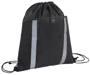 Front Pouch Drawstring Bag