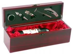 Wine Bottle Bar Set