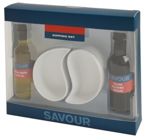 Olive Oil and Balsamic Vinegar Dip Set