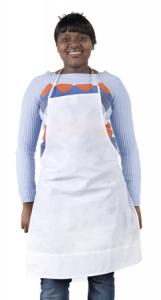 Non- woven apron