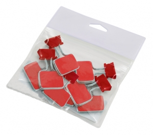 PVC Bags and clips