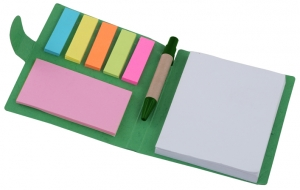 Sticky Memo Mini notepad and pen