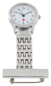 Metal Nurse Watch