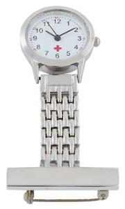 Metal Nurse Watch
