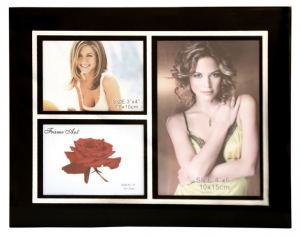 3 in 1 Glass Photo Frame
